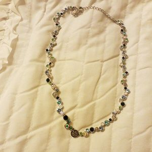 Lia Sophia multicolored bling necklace